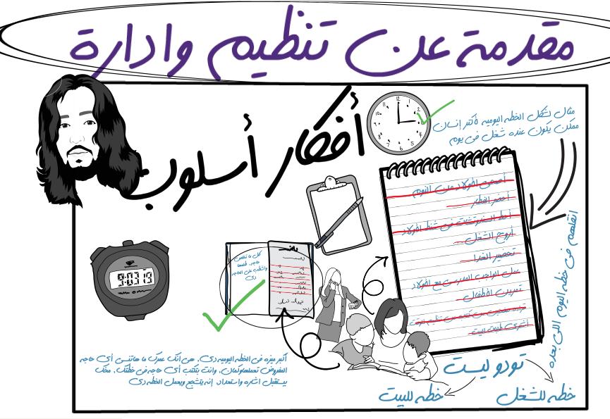 برنامج أفكار أسلوب - الحلقة الثانية: ٦ خطوات لتنظيم وقتك - مقدمة عن إدارة وتنظيم الوقت :